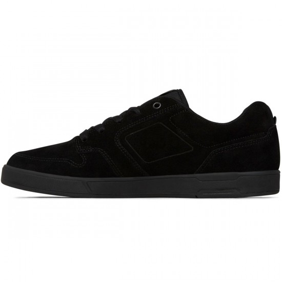 DC Nyjah S Shoes - Black/Black - 6.0