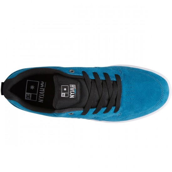 DC Nyjah S Shoes - Blue/White/Black - 6.0
