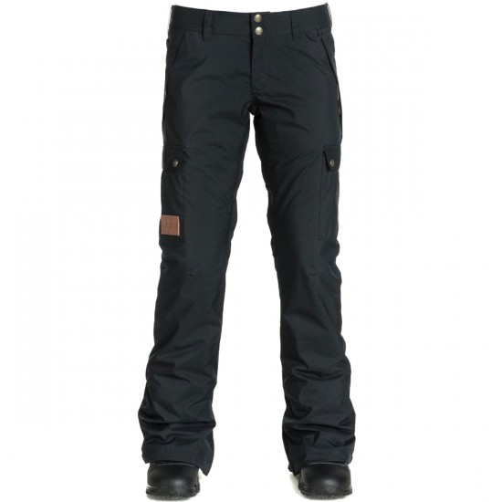 DC Recruit Womens Snowboard Pants - Anthracite