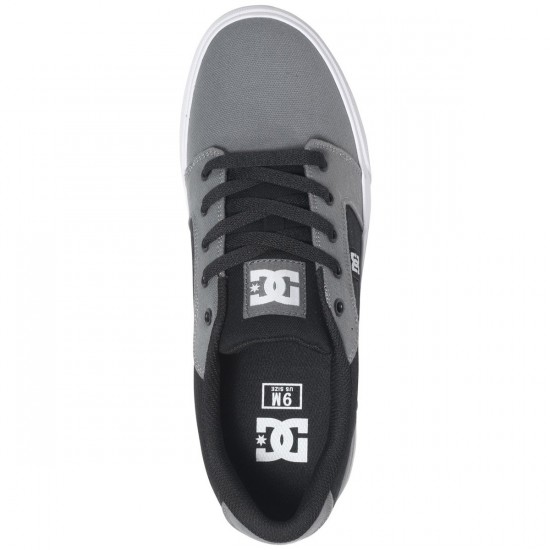 DC Anvil TX Shoes - Dark Grey/Black - 13.0