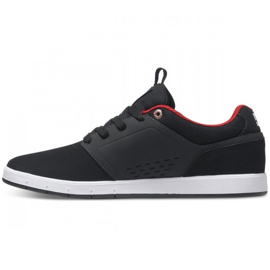 DC Cole Signature Shoes - Black/Red - 11.0