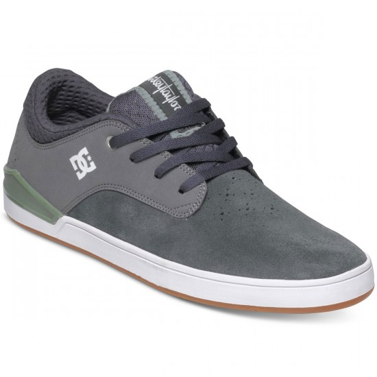 DC Mikey Taylor Shoes - Grey/Green - 11.0