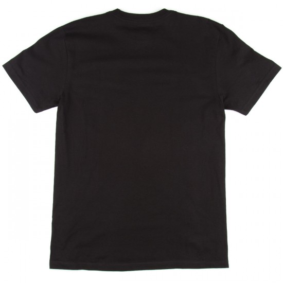 DC Rebuilt Short Sleeve T-Shirt - Black
