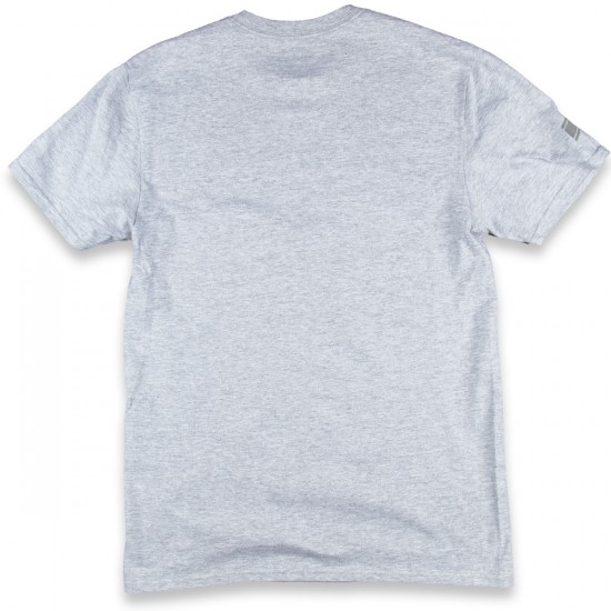 DC Red Tab Short Sleeve T-Shirt - Heather Grey