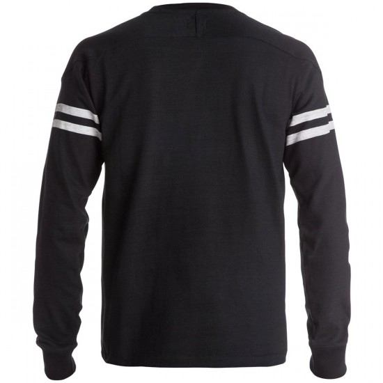 DC Rogahn Long Sleeve T-Shirt - Black