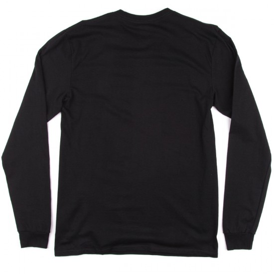 DC Star Long Sleeve T-Shirt - Black