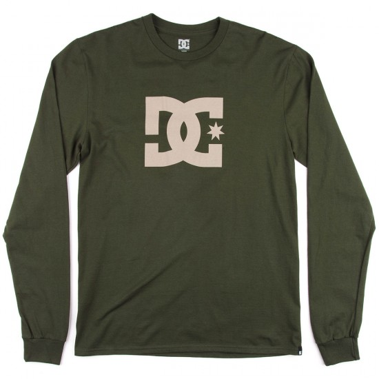 DC Star Long Sleeve T-Shirt - Duffel Bag