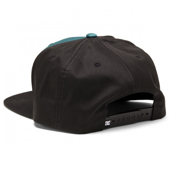 DC Snappy Hat - Deep Teal/Black/Light Charcoal