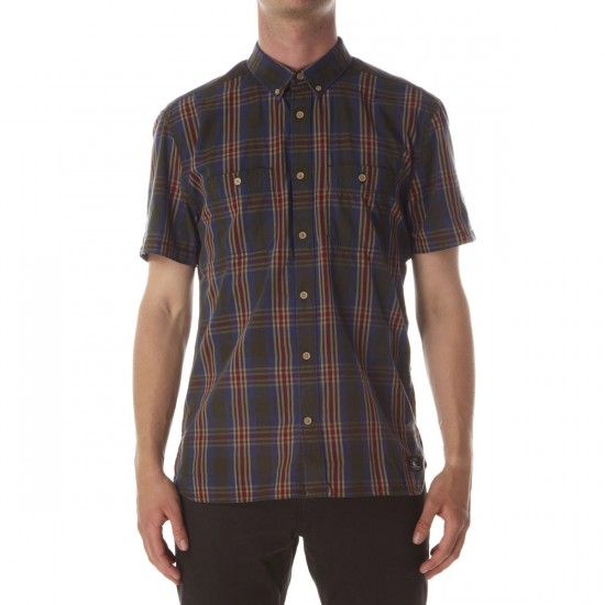 DC Standish Shirt - Dark Olive Plaid