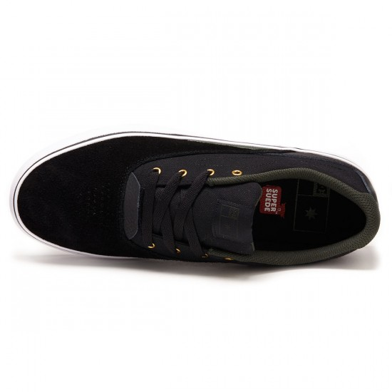DC Sultan Shoes - Black/Forest - 8.0