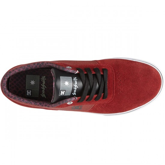 DC Switch S Lite Shoes - Wine - 7.0