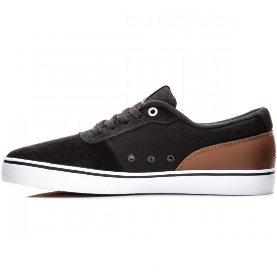 DC Switch S Shoes - Black/Brown/White - 6.0