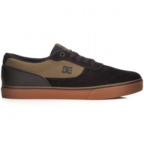 DC Switch Shoes - Black/Green - 14.0