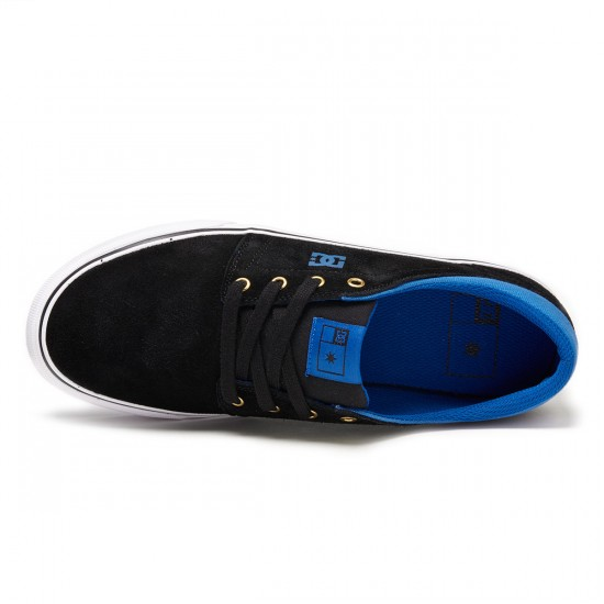 DC Trase Shoes - Black/Blue - 8.0