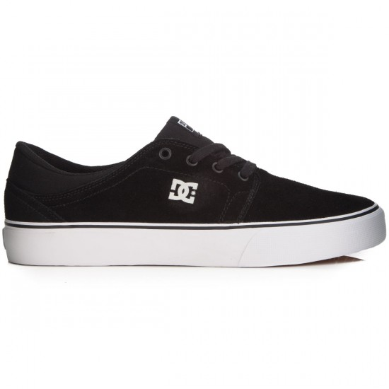 DC Trase Shoes - Black/White - 13.0
