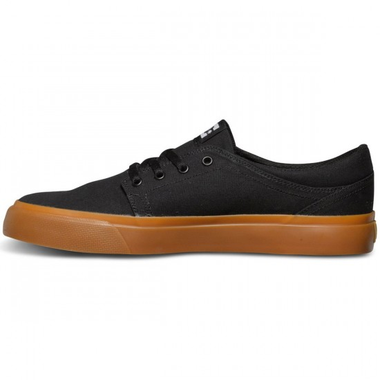 DC Trase TX Shoes - Black/Gum - 12.5