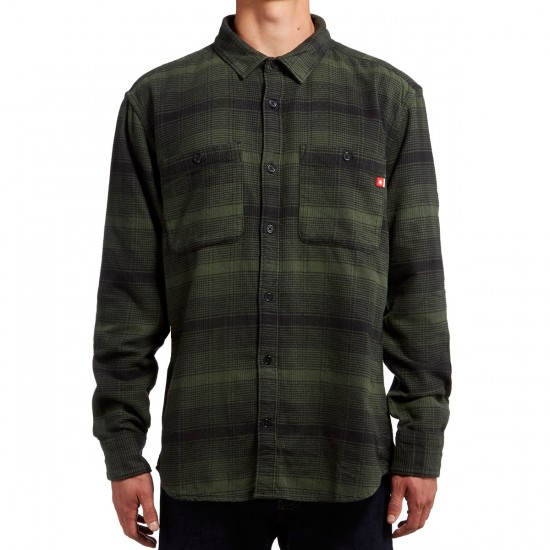 DC Venetian Hombre Flannel Shirt - Forest Night