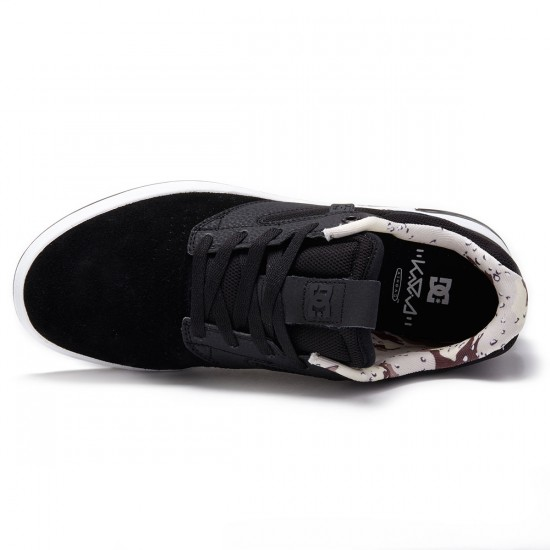 DC Wolf Shoes - Black/Camoflage - 8.5