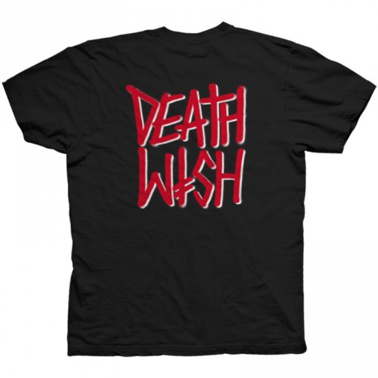 Deathwish All Fronts T-Shirt - Black/Red
