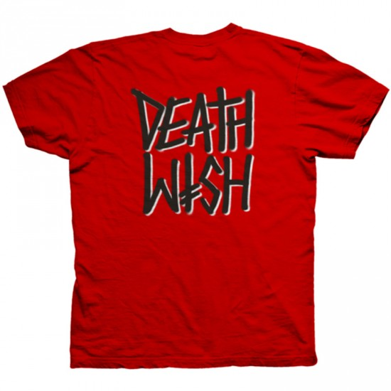 Deathwish All Fronts T-Shirt - Red/Black