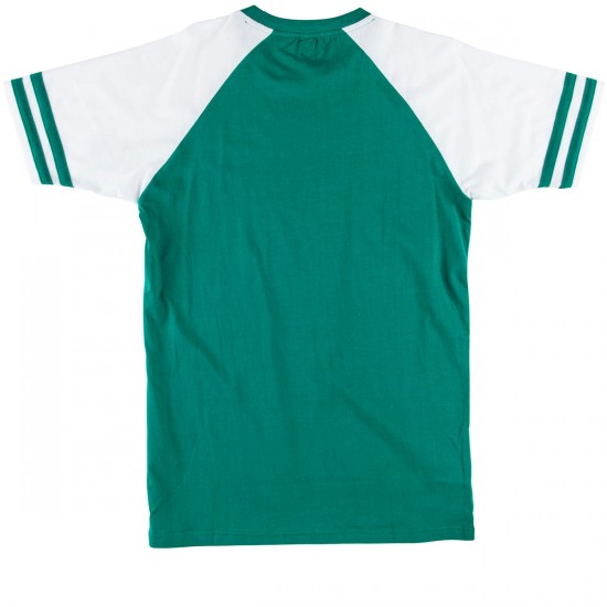 Deathwish Boardwalk T-Shirt - Green/White