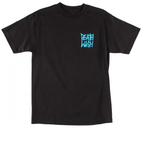 Deathwish The Truth T-Shirt - Black/Blue