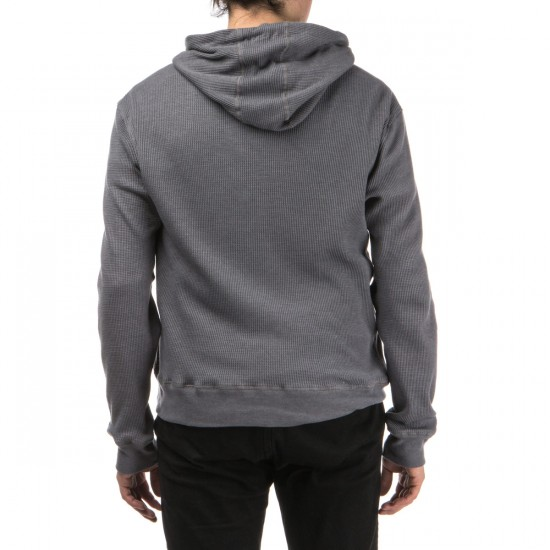 Depactus Tiller Thermal Pullover Hoodie - Medium Heather Grey