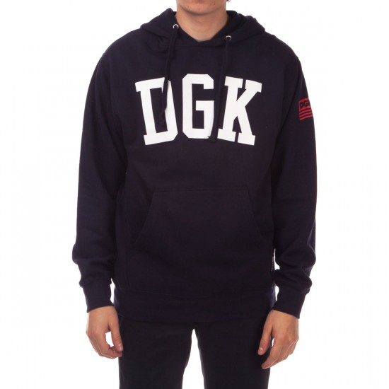 DGK American Icon Fleece Hoodie - Navy