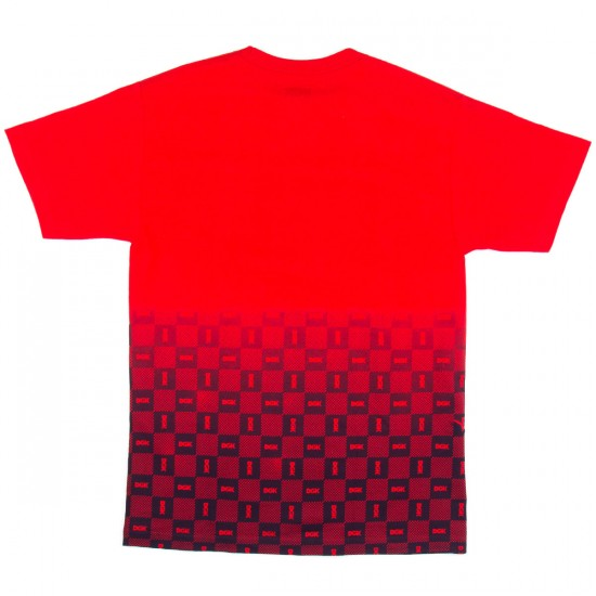 DGK Checkers T-Shirt - Red