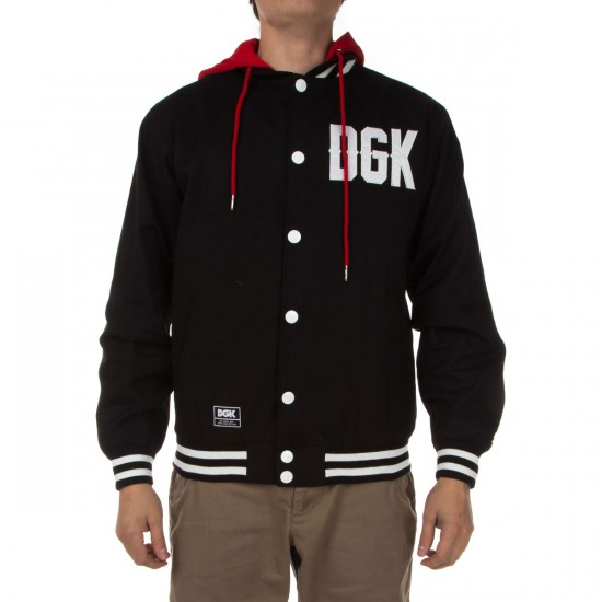 DGK From Nothing Hooded Jacket - Black