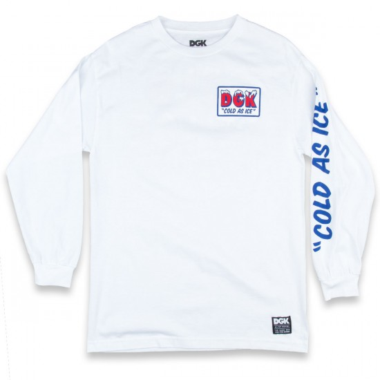 DGK Ice Cold Long Sleeve T-Shirt - White