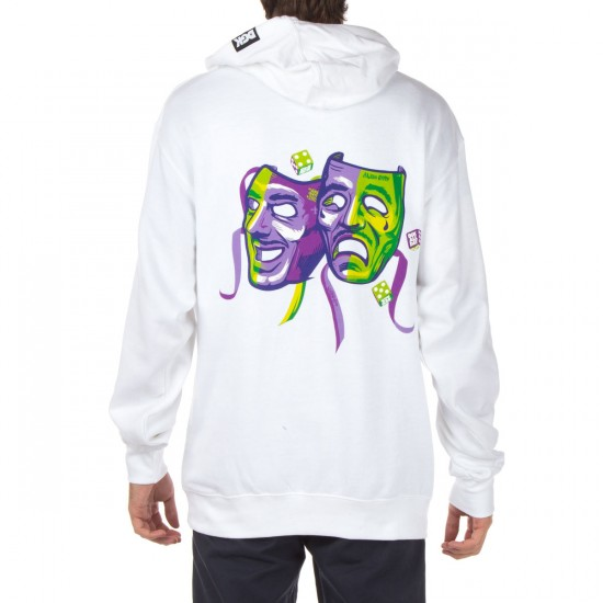 DGK Laugh Now Cry Later Fleece Hoodie - White