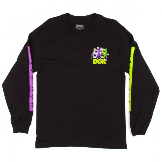 DGK Laugh Now Cry Later Long Sleeve T-Shirt - Black