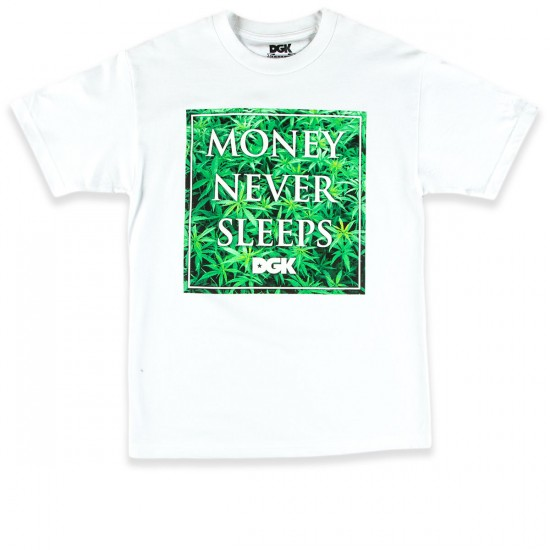 DGK Money Field T-Shirt - White