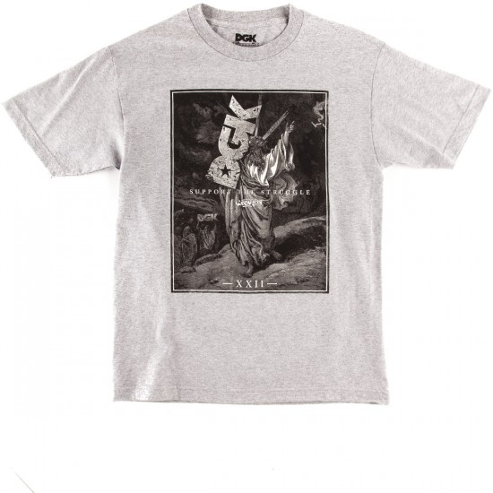 DGK Support T-Shirt - Athletic Heather