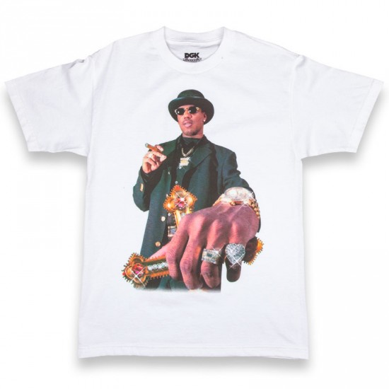 DGK X No Limit Da Last Don T-Shirt - White