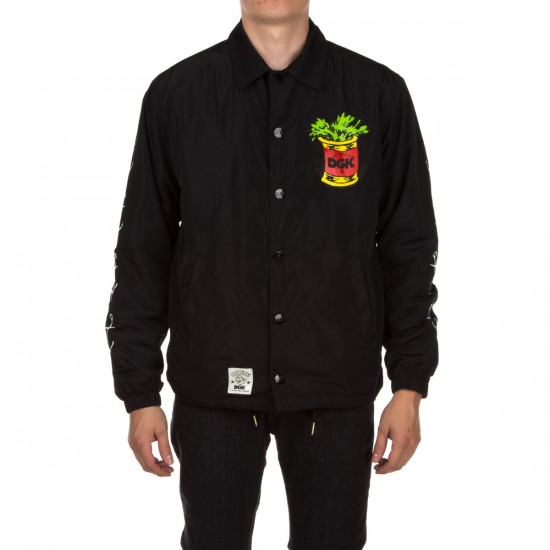 DGK X Popeye Coaches Jacket - Black