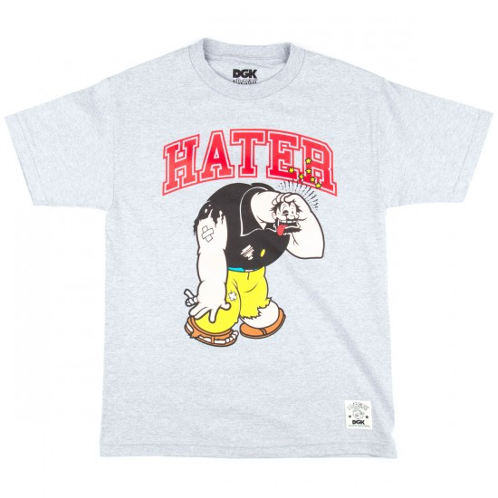 DGK X Popeye Hater T-Shirt - Athletic Heather