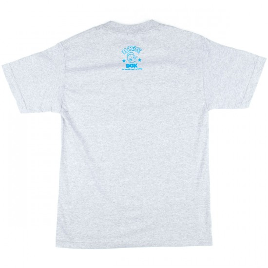 DGK X Popeye Hustle Hard T-Shirt - Athletic Heather