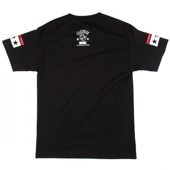 DGK X Popeye Strong To The Finish T-Shirt - Black