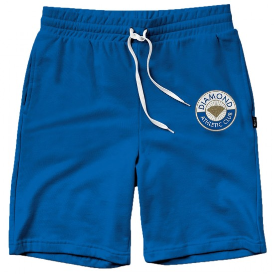 Diamond Supply Co. Athletic Club Sweat Shorts - Royal Blue