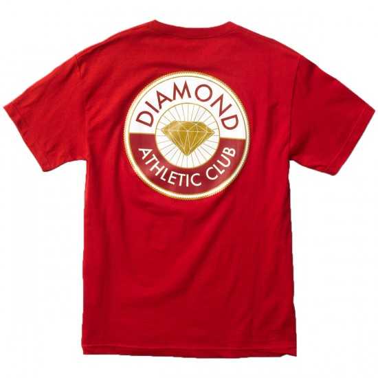 Diamond Supply Co. Athletic Club T-Shirt - Red