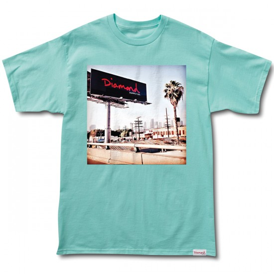Diamond Supply Co. Billboard T-Shirt - Diamond Blue