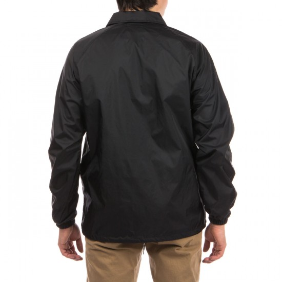 Diamond Supply Co. Blackout Coaches Jacket - Black