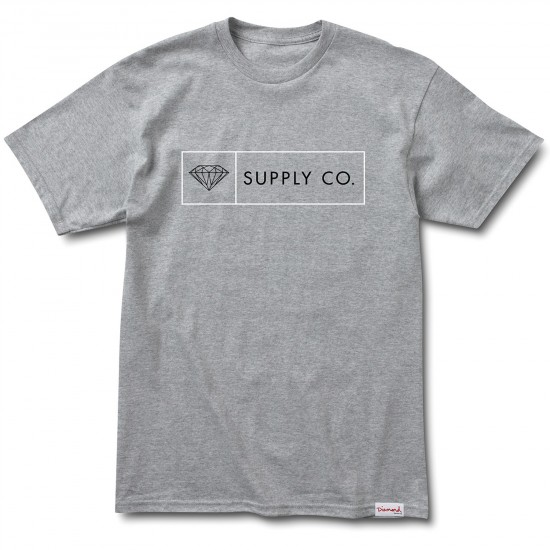 Diamond Supply Co. Boxed In T-Shirt - Heather