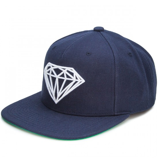 Diamond Supply Co. Brilliant Snapback Hat - Navy