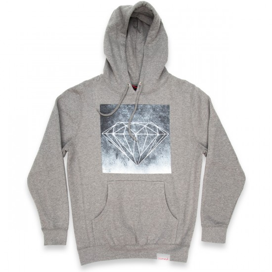 Diamond Supply Co. Chalk Hoodie - Heather Grey