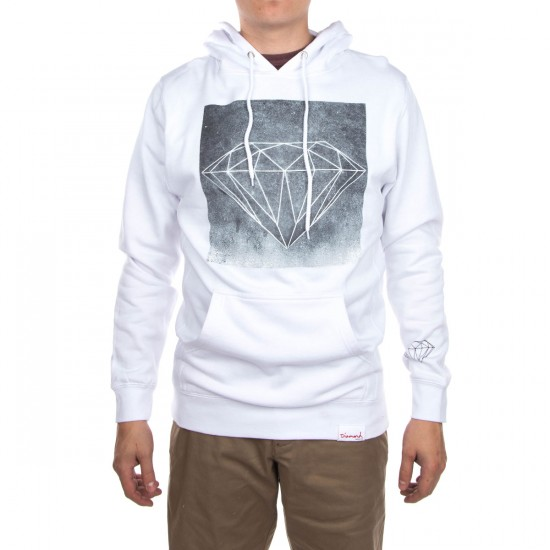 Diamond Supply Co. Chalk Hoodie - White