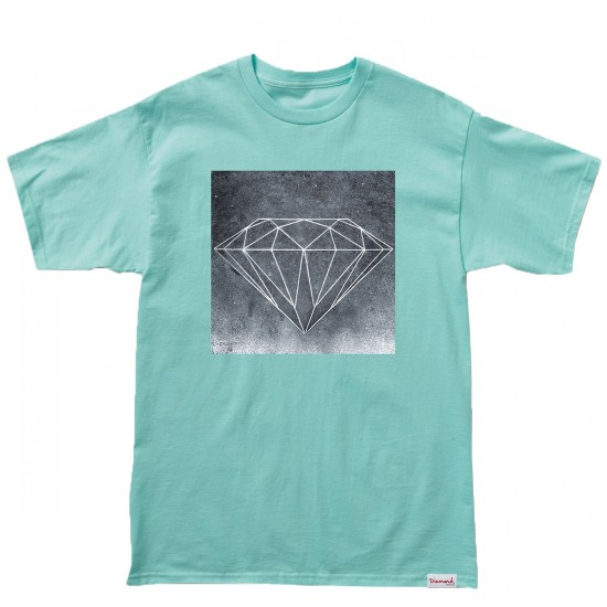 Diamond Supply Co. Chalk T-Shirt - Diamond Blue