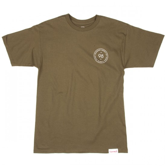 Diamond Supply Co. Circumference T-Shirt - Military Green